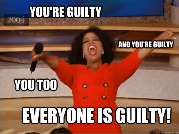 Oprah Guilty