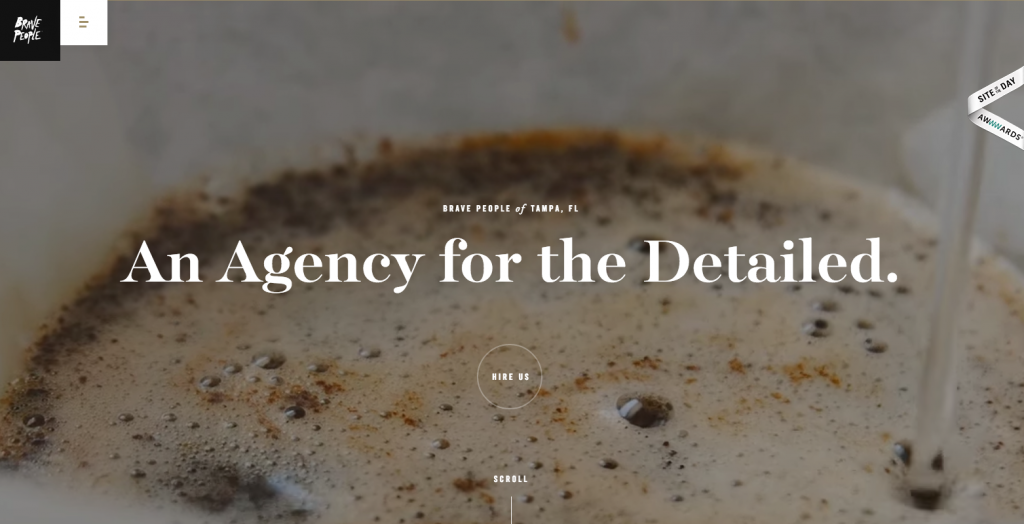 agency home page