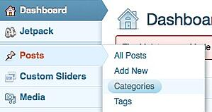 Adding new categories