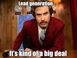 lead generation Ron Burgundy