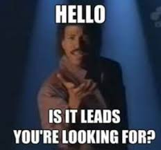Lionel Richie, Hello, Is it leads you're looking for?